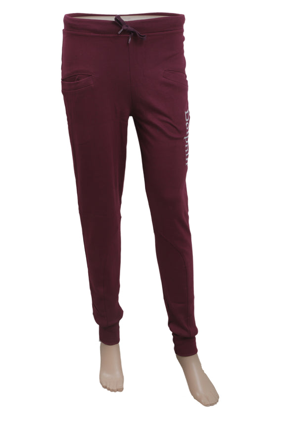 Dhanari Women's Dolphin Maroon Color Lower With Elasticized Waistband (NS-12) L10