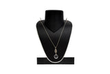 Dhanari Women's Silver Color Chain Necklace (JW-112)G00001
