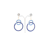 Dhanari Blue Color Earrings For Women's (JW-150) S000007