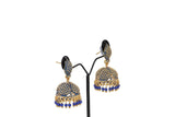 Dhanari Royal Blue Traditional Jhumka Earrings For Women's (JW-153)V0000020