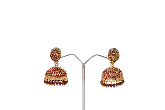 Dhanari Women's Gold Plated With Attractive Design Jhumka (JW-154)W000009
