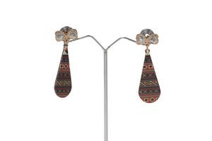 Dhanari Multi Colored  Earrings For Women's  (JW-155) X0000011