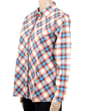 Dhanari Women's Multicolor Checks Regular Shirt Toppers(ST-1)A3