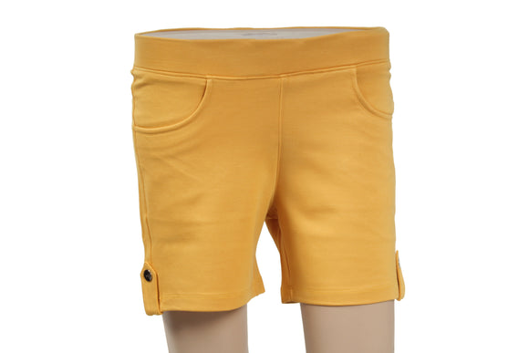 Dhanari Women's Yellow Shorts Jegging (SHORT-2) B2