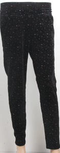 Dhanari Women's Black Color With Small White Dots Jeggings(JG-3)C6