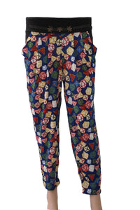 Dhanari Night Wear Blue Pajama For Women's (NS-16) P2