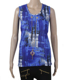 Dhanari Blue Color Top For Women's (TOP-17) Q1