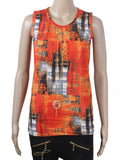 Dhanari Orange Color Top For Women's (TOP-17) Q2
