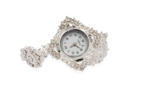 Dhanari Ethnic Touch Diamond Watch For Women's (WAT-10) J5