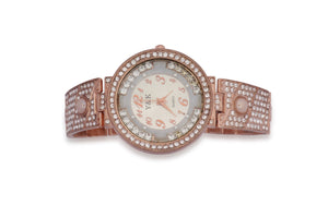 Dhanari Decent Metal Color Watch For Women's (WAT-12)L5
