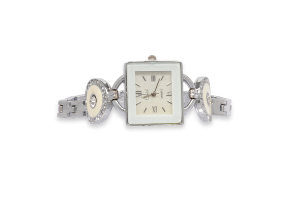 Dhanari Charm Silver Watch For Women's (WAT-13)M3