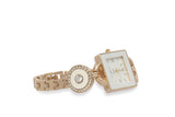 Dhanari Charm Golden Watch For Women's (WAT-13)M4