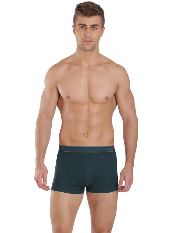 Jockey Men's Elance Ultra Soft Trunk (BRF_#1015_REFLECTING POND)