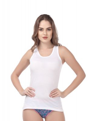 Women's Camisole Softline Butterfly (CS_C101_White)