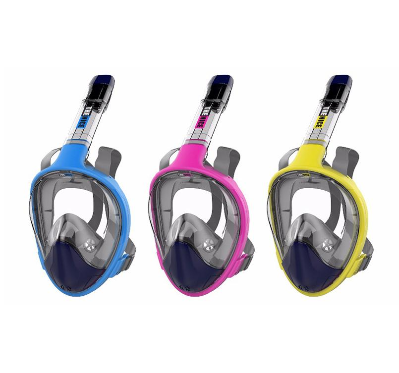Easy Breath Snorkel Mask-180° Large View
