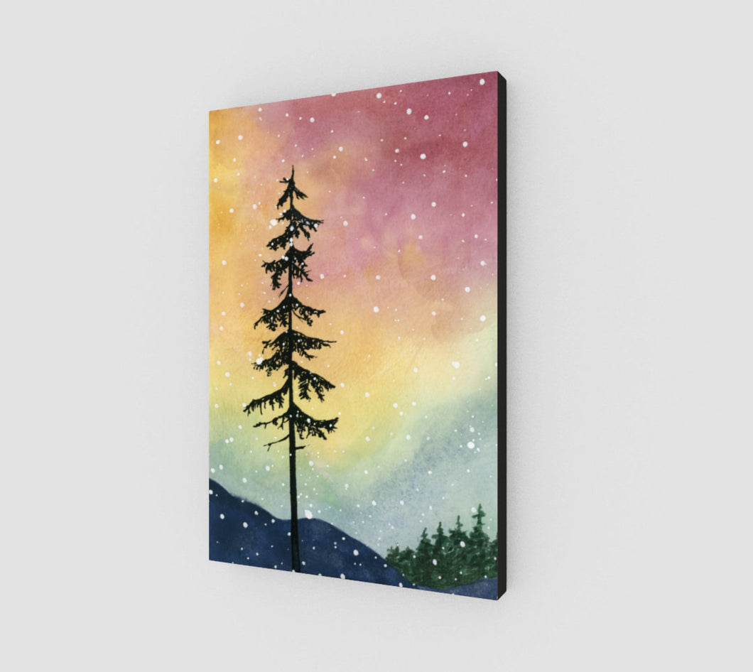 Aurora Borealis Canvas