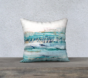 "Waves 18 x 18"" Pillow Case"