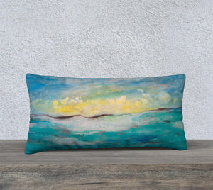 "Glow 24 x 12"" Pillow Case"