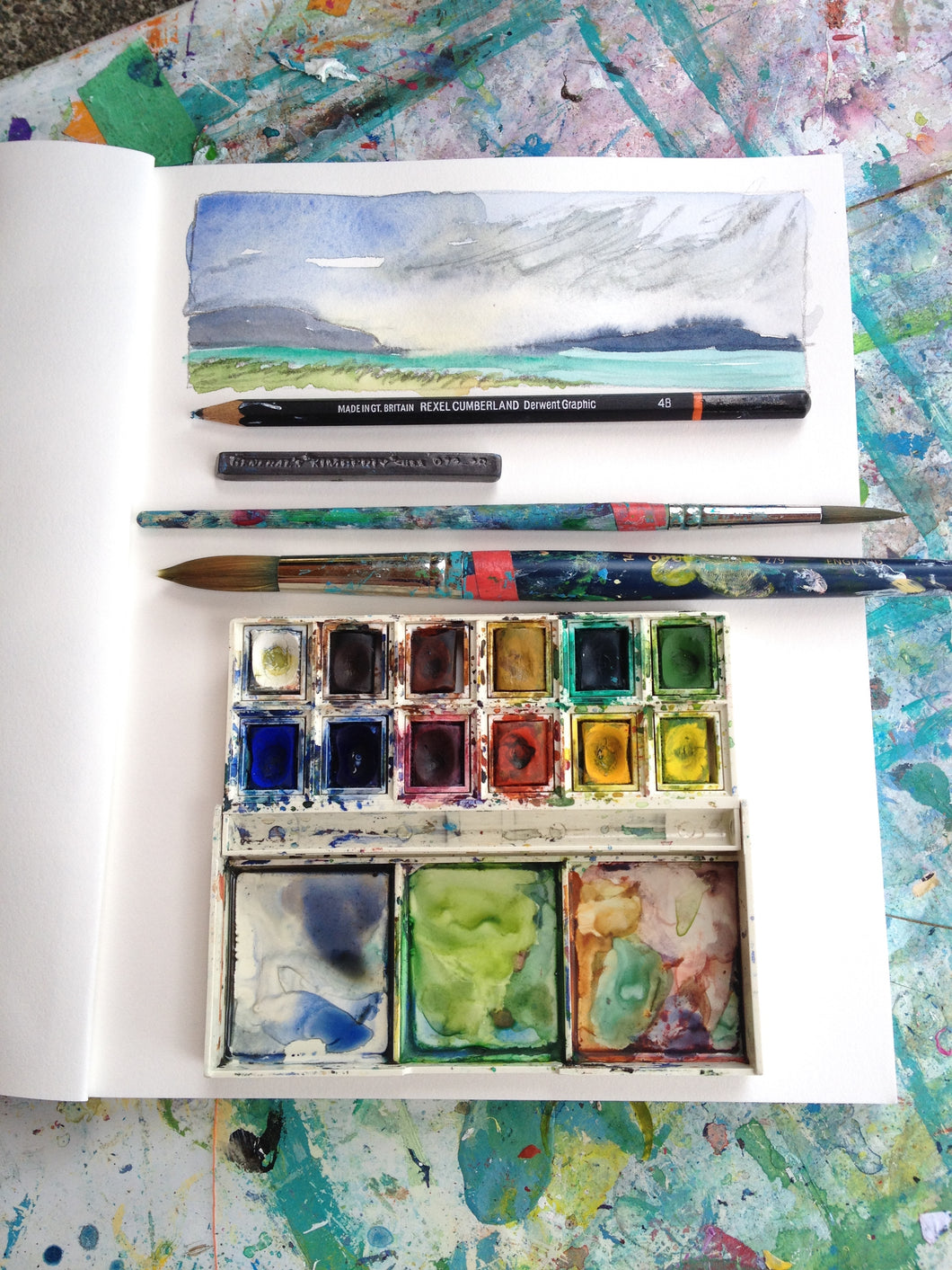 Beginner Watercolour Workshop at Lupine Art Studio