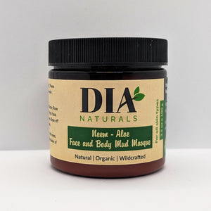 Organic Neem Aloe Face and Body Mud Masque