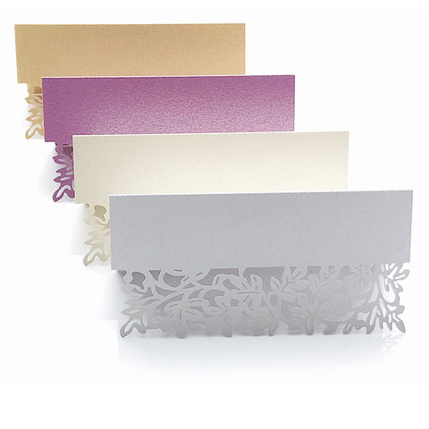 name place card holder wedding table setting
