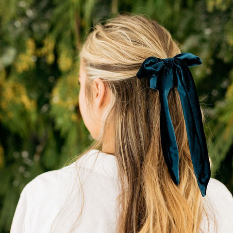 Velvet Hair Ribbon