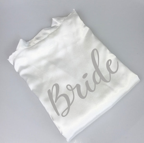 bride and bridesquad set of robes