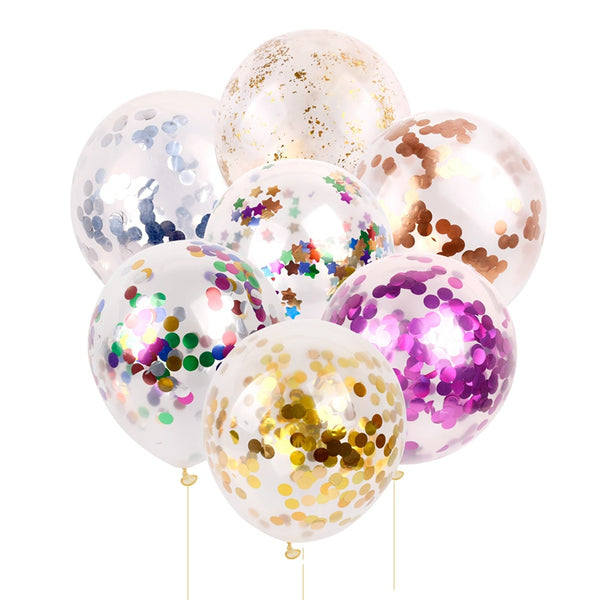 confetti balloons large for weddings and venue decoration multi color