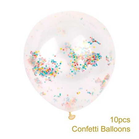 confetti balloons large for weddings and venue decoration multi color mini