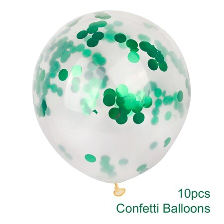 confetti balloons large for weddings and venue decoration green
