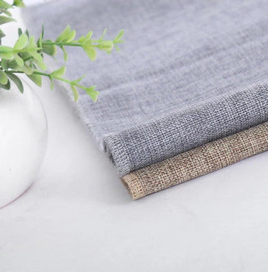 burlap table runner grey and light khaki wedding table dressing