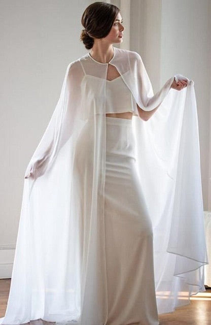 wedding bridal cape