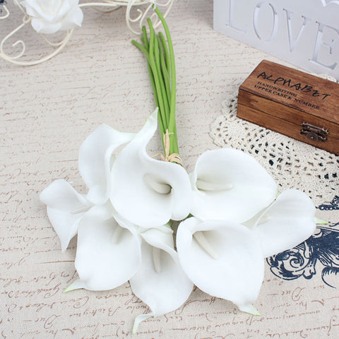 ivory white calla lilies wedding centre price bouquet white centre