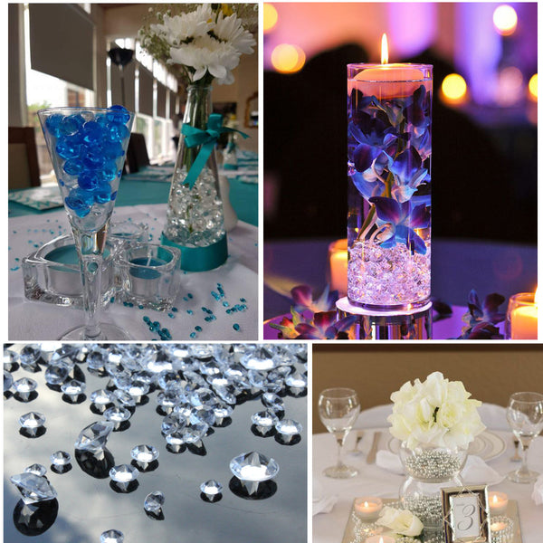decorative crystal wedding decorations on a budget