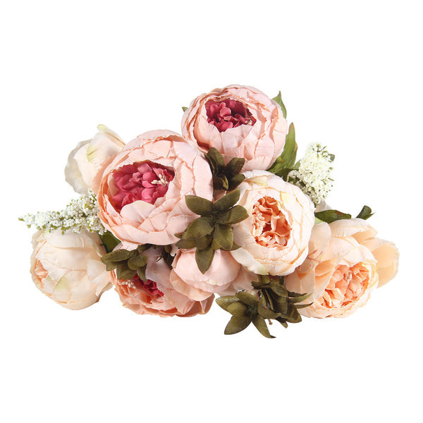 bunch of peony flowers peonies for affordable wedding flowers peach