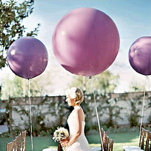 extra large wedding balloon purple
