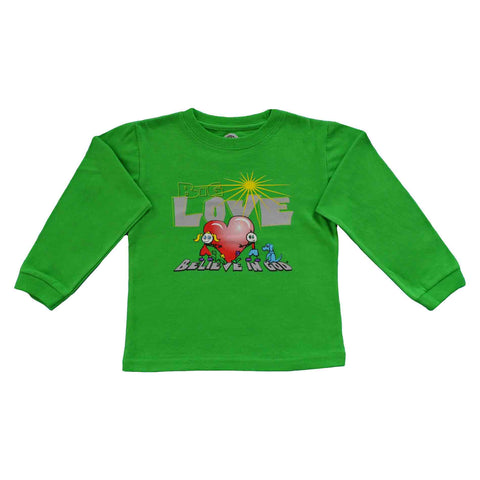 Toddler LS Love Heart Tee