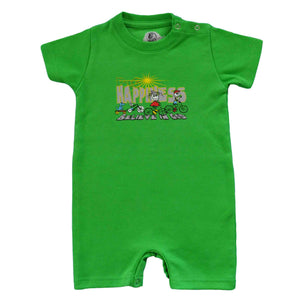 Infants Happiness Biking Romper