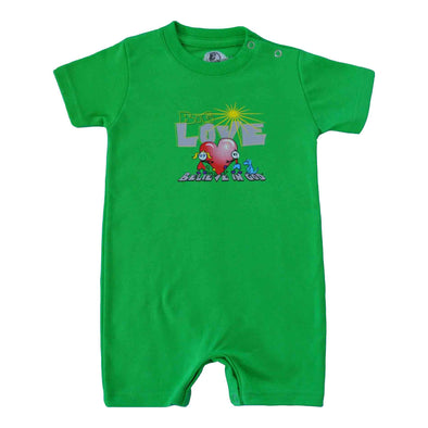 Infants Love Heart Romper