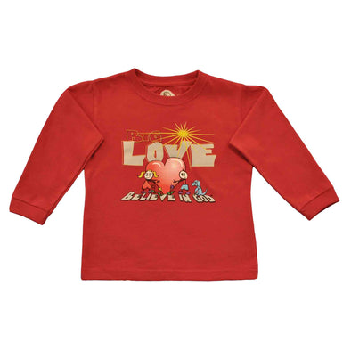 Infants Long Sleeve Love Heart Tee