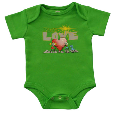 Infants Love Heart Bodysuit