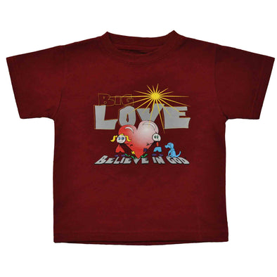 Toddler Love Heart Tee