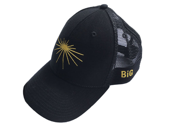 Soft Mesh Cap Black