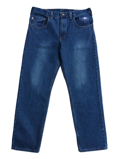 Denim Jeans Deep Blue