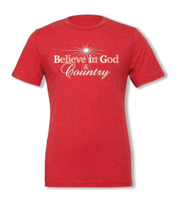 Limited-Edition Believe in God & Country