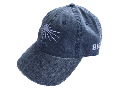 Washed Twill Herringbone Cap Navy