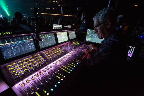 Avid VENUE S6L System with S6L-32D Control Surface and E6L