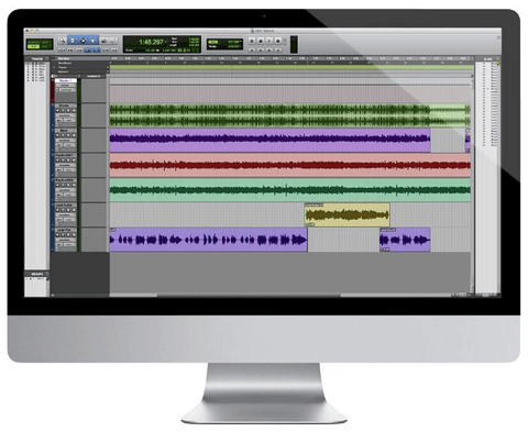 Avid Pro Tools 2018 with 1-Year of Updates + Support Plan Perpetual Li