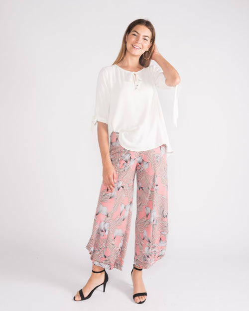 Kate Soft Knit Balloon Pants- Pink size 10-18