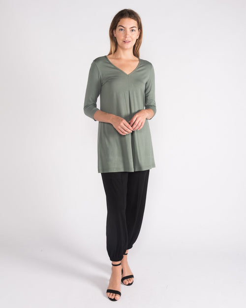 Swing Knit Top - Green - Sizes 10-18